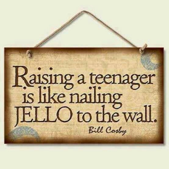 Raising teenagers. Yup. Tough job.    #ourwomanhood #teenagers