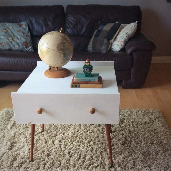 Upcycle old drawers into a DIY coffee table!