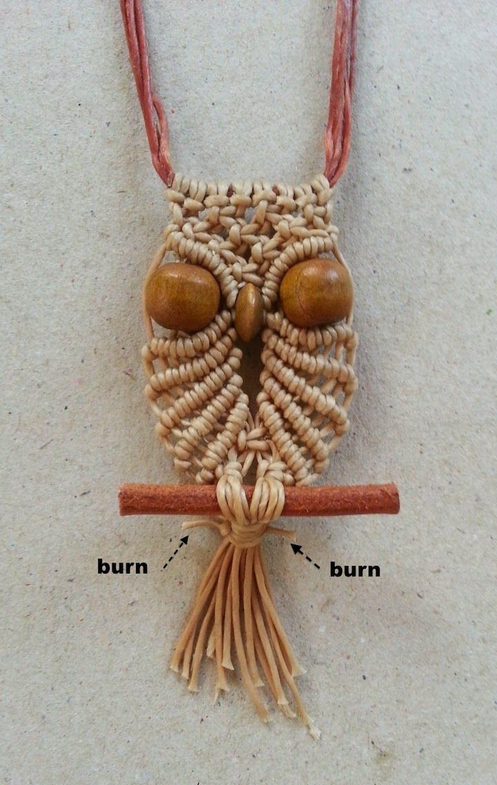macrame necklace pattern 17 best images about macrame owl on the 70s 2414