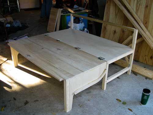 Camper Van Conversion Fold Out Bedi Was Designing Something Along