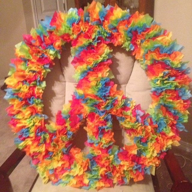 Peace Sign Party Decor