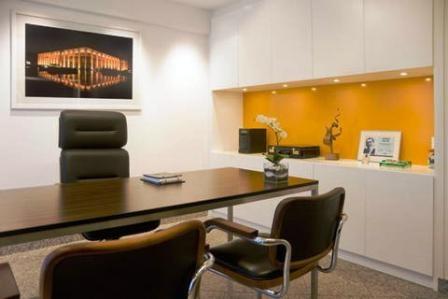 Futuristic Office Interior Design 448x299