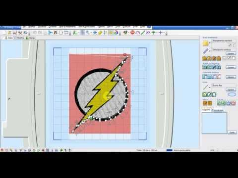 3^ Lezione 5D Embroidery - Primi passi per digitalizzare - YouTube