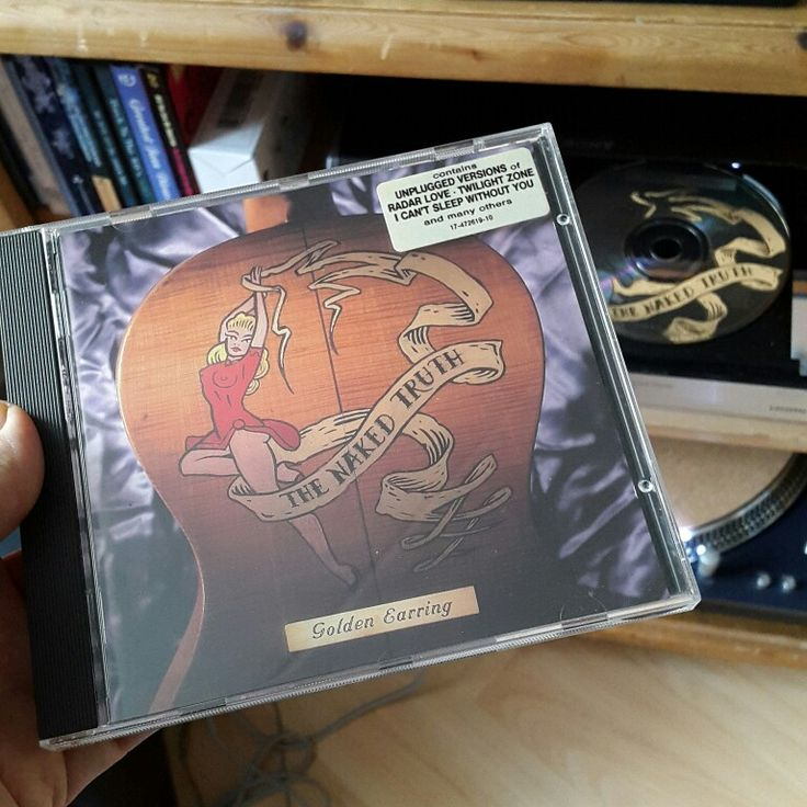 #Nowplaying #CD The Naked Truth #GoldenEarring (Columbia, 1992)