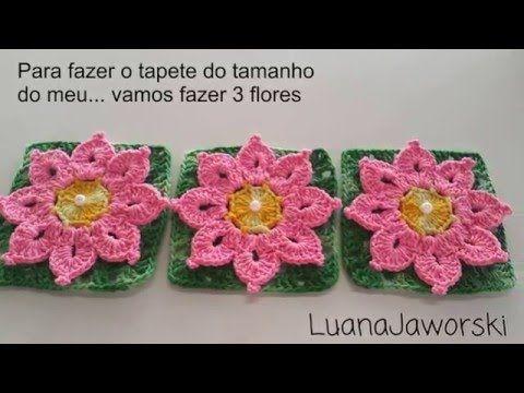 PAP da flor Taís,Para Ser Aplicado em Tapete Escamas e outros; Cristina coelho alves - YouTube
