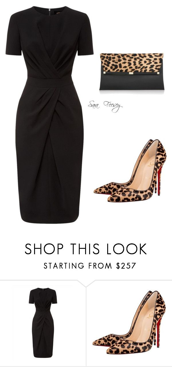 """""""Untitled #133"""" by sara-elizabeth-feesey ❤ liked on Polyvore featuring Jaeger, Christian Louboutin and Diane Von Furstenberg"""