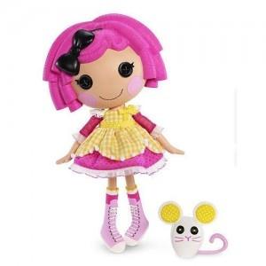 Lalaloopsy dolls, her favorite dolls