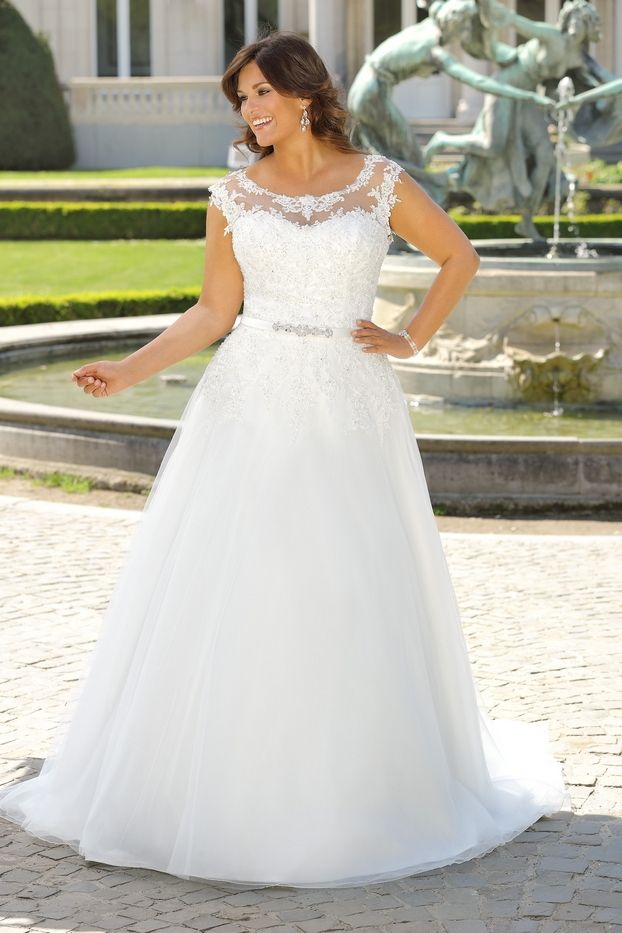 Plus size wedding dress - Ladybird Bridal - New collection ...