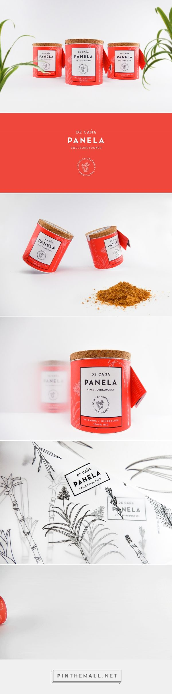 De Caña Panela Sugarcane by Gabriela Dule. Source: Bechance. Pin curated by #SFields99 #packaging #design #inspiration #ideas #branding #sugar #