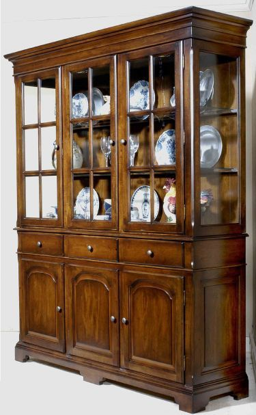 Buffet W Hutch HutchChina CabinetsNottinghamAntiquitiesCottagesDining RoomWoodFurniture