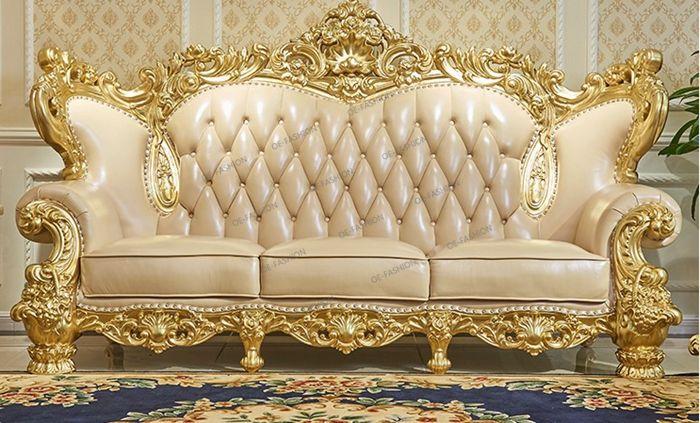 Wood Carving Sofa Set In Living Room Furniture Design View Wood