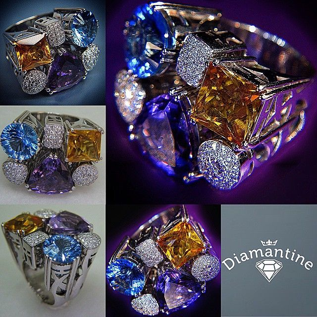 All the pieces in the photos have been designed and made by Diamantine.dk We transform any idea or design into jewelry.