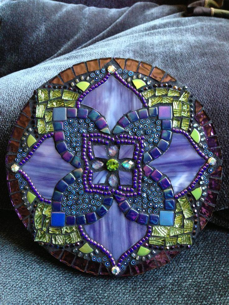 Mosaic Mandala by Moonjewelsandmosaics on Etsy