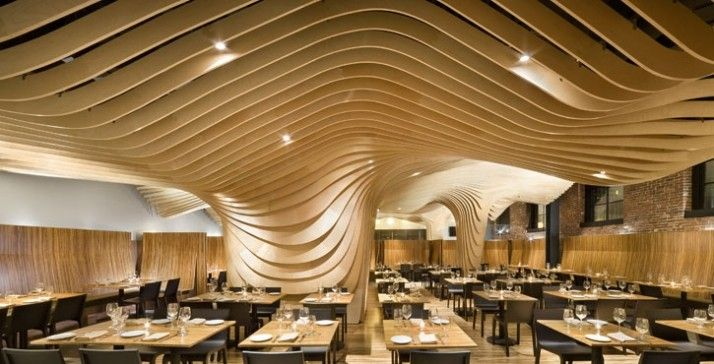 Banq Restaurant by Office dA / Boston, Massachusettes / 2008