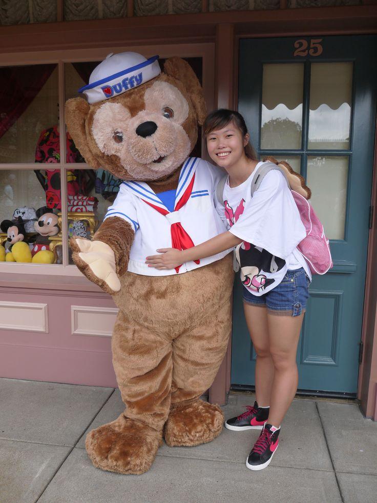 Duffy in Hong Kong Disneyland. 2014