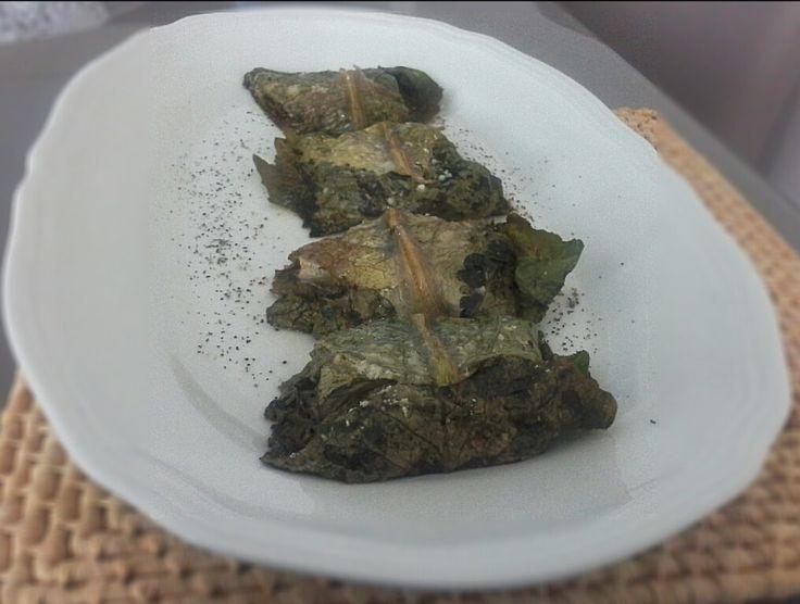 Involtini di lattuga con funghi e zucca | Biosilvi