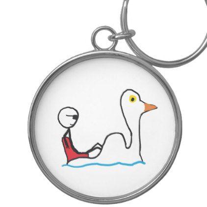 Pedalo Keychain - accessories accessory gift idea stylish unique custom