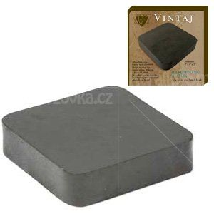 Gumová tvrzená tlumící podložka pod kovadliny - 100 x 100mm -1ks