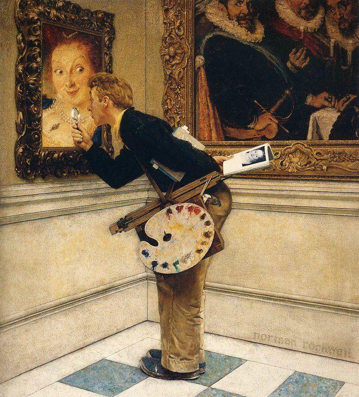 Норман Роквелл (Norman Rockwell) - один из самых культовых американских художников и иллюстраторов!. Обсуждение на LiveInternet - Российский Сервис Онлайн-Дневников