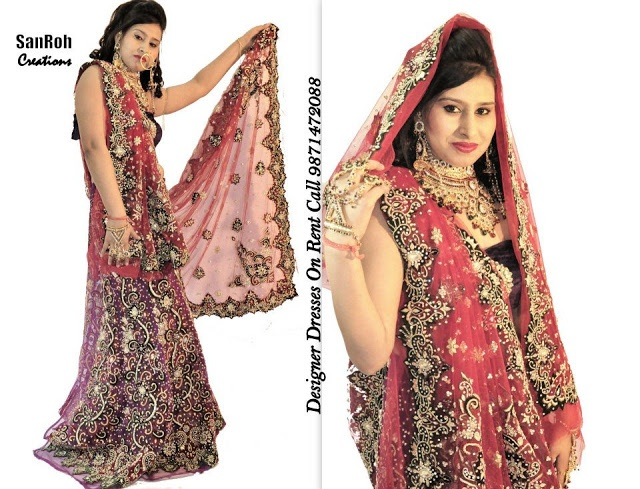 17 best images about wedding dresses on rent on pinterest for Wedding dress on rent in delhi