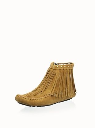 55% OFF Jimmy Choo Women's Fringe Bootie (Tan)