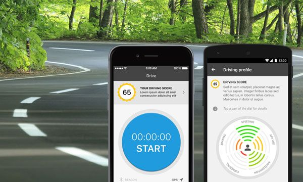 Car insurance telematics An OEM companion app for car insurance brokers, that assesses customer driving style and help to report accidents.