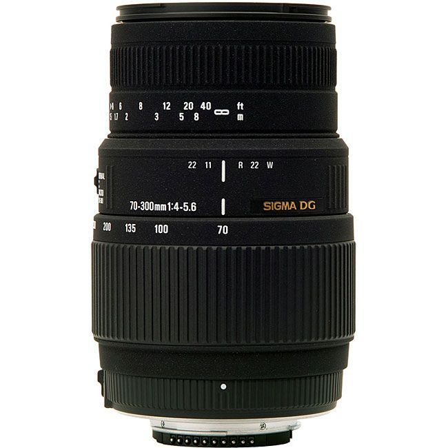 Sigma 70-300mm F4-5.6 DG Macro lens is optimized for use with Nikon DSLR cameras…