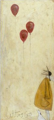 "another Sam Toft beautiful work...go check her out! simply perfect...this one is ""Letting Go""."