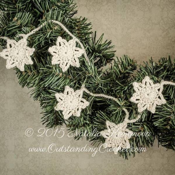 Free Pattern – Snowflake Garland