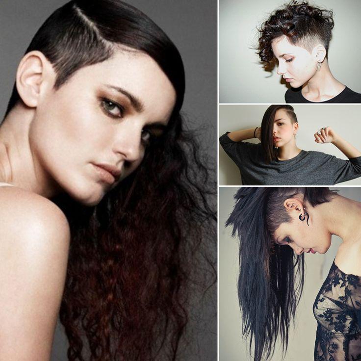 Undercut cheveux long femme - Coupe undercut femme ...