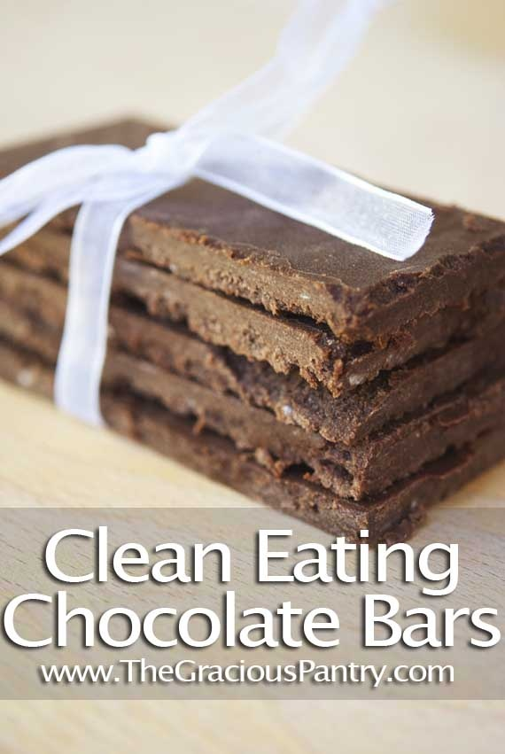 Clean Eating Chocolate Bars  #cleaneating #cleaneatingrecipes #eatclean #healthyrecipes #recipes #dessert #dessertrecipes