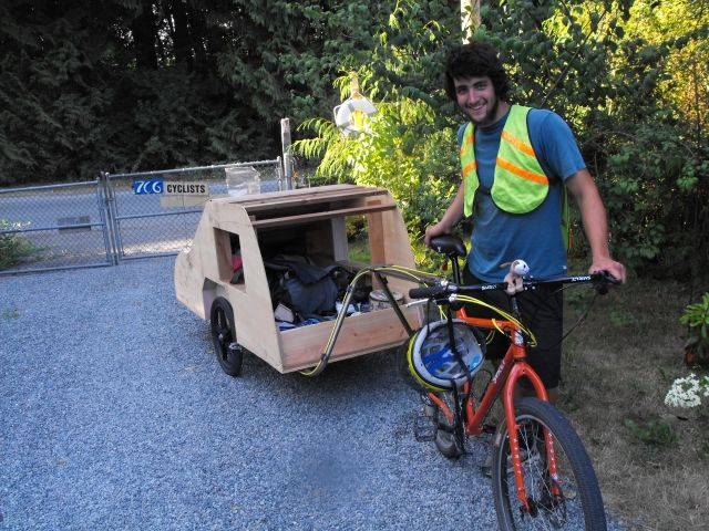 Nomad Bicycle Tent Trailer
