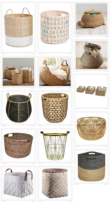 my favorite baskets organized laundry roomsmodern