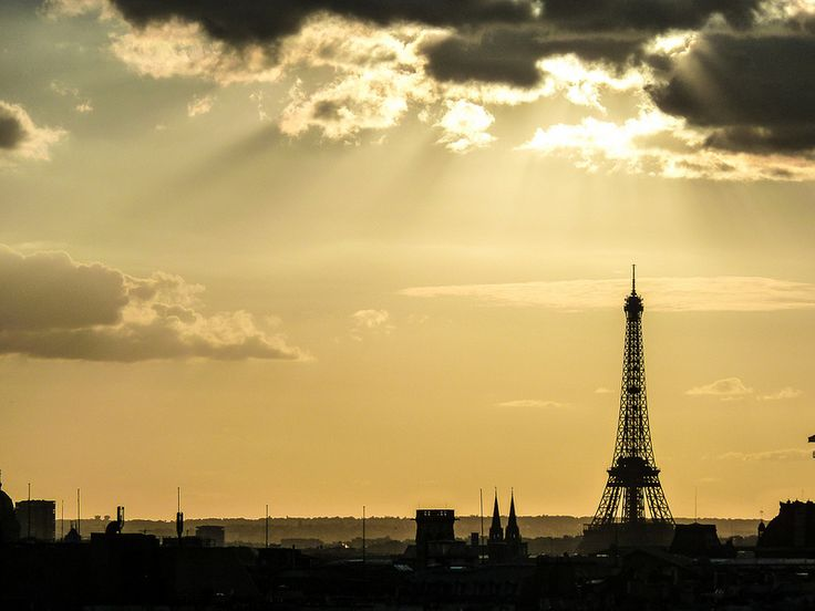 Sunset on Tour Eiffel / Sep.