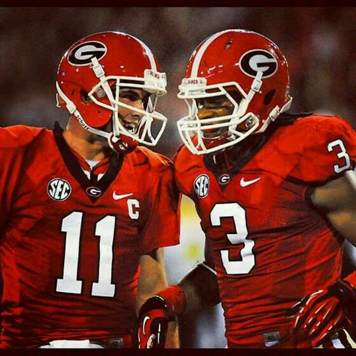 Aaron Murray and Todd Gurley. There is a match you don't want to go up against.  Beast! :)