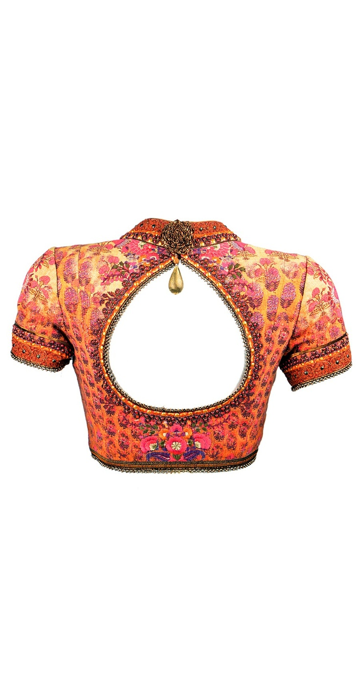 Tarun Tahiliani sari blouse