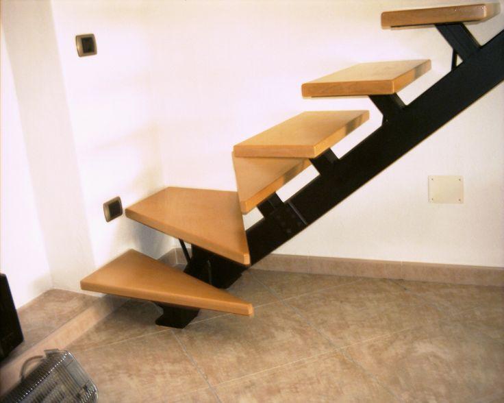 scala ferro e legno
