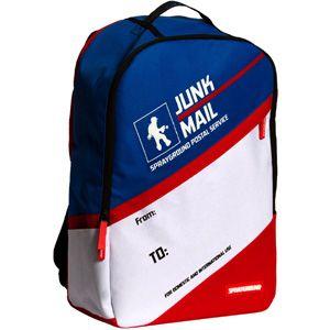 Sprayground Junk Mail Backpack (blue / white / red)