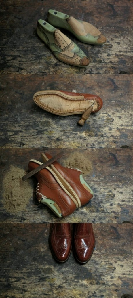 Video des italiens Calzoleria Giacopelli et  Dandy Shoe Care sur la fabrication d'une chaussure à la main sur notre blog.  http://www.cordoshop.com/blog/comment-une-paire-de-chaussures-est-elle-fabriquee/