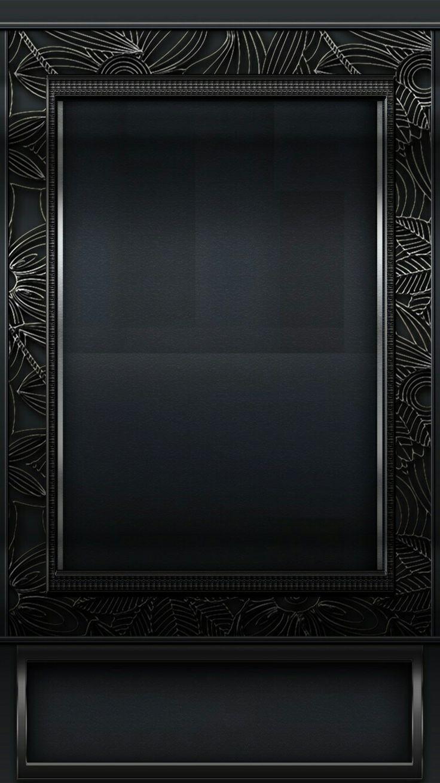 Black Picture Frame Shelf