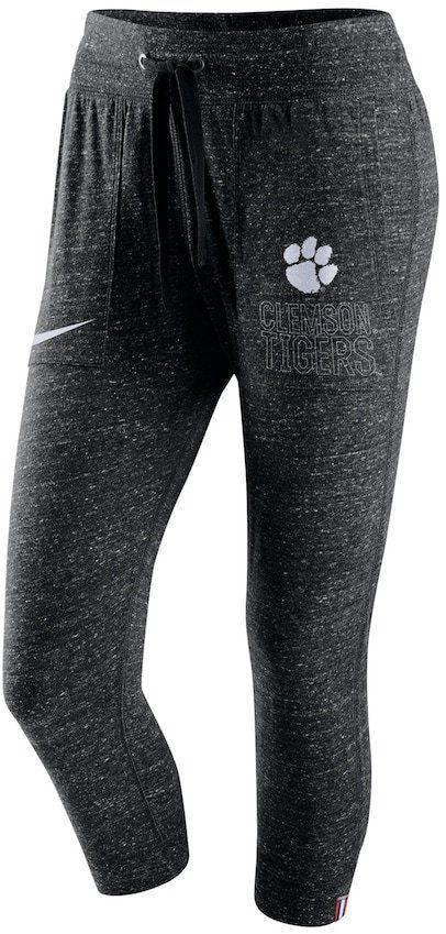 Nike Women's Clemson Tigers Vintage Capri Pants