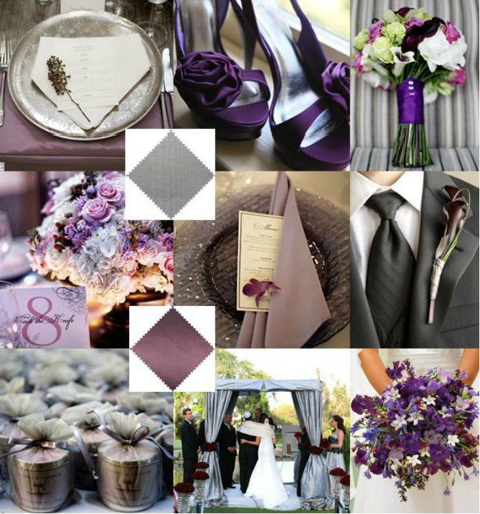 Eggplant And Red And Purple Wedding Ideas: 88 Best Ideas About A PURPLE Wedding On Pinterest