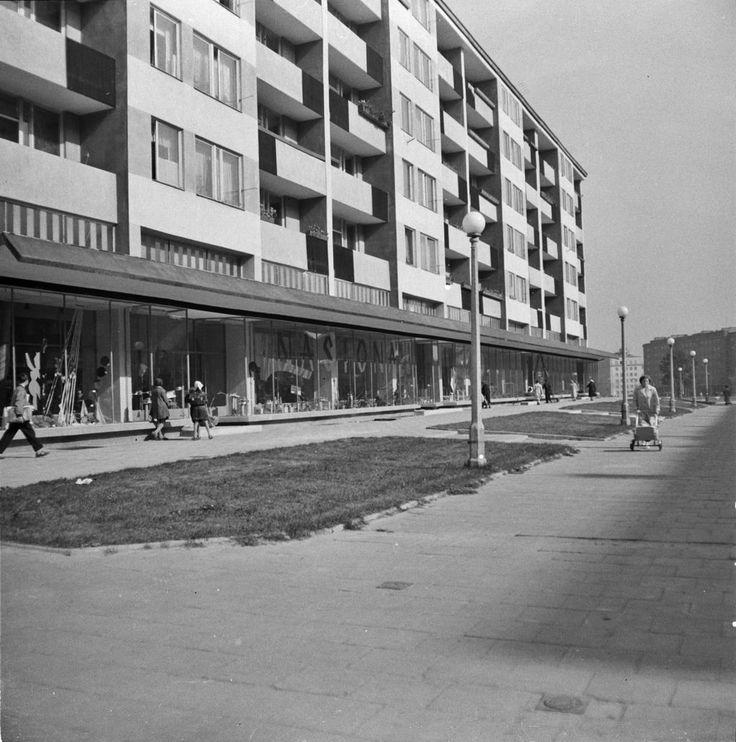 Blok Szwedzki - interior. Polish modernism - Nowa Huta, Kraków 1956 - 1959