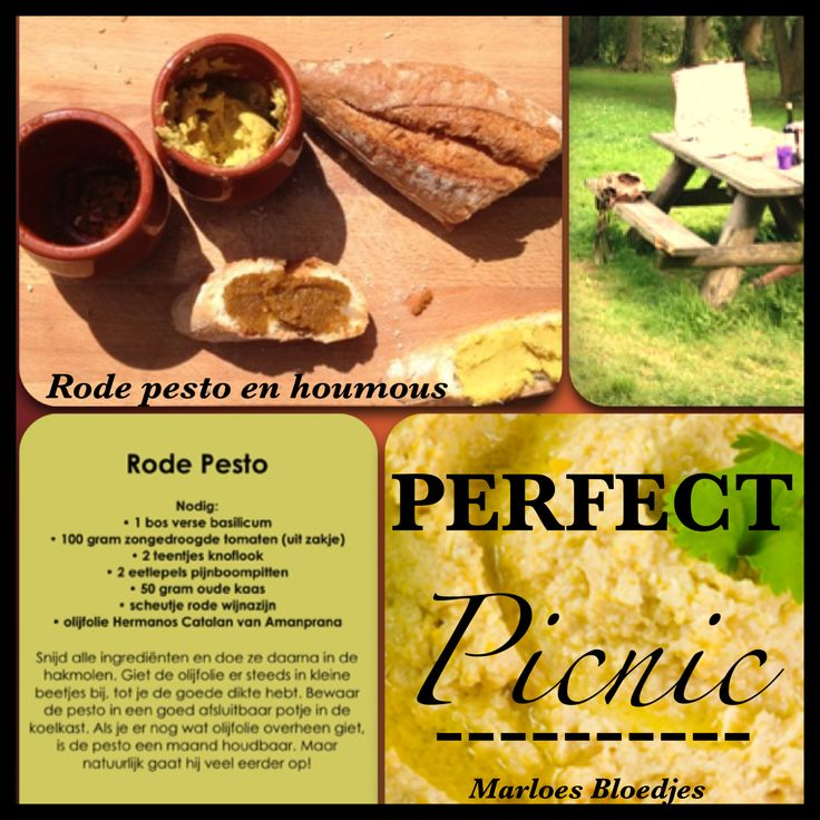 mijn favoriete recepten met Amanprana's olijfolie Hermanos Catalan: rode pesto en houmous. Voor het houmousrecept ga je naar: http://www.noble-house.tk/recept/NL/houmous_à_la_hermanos_catalán_