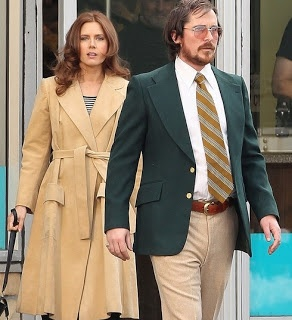 American Hustle Movie : Teaser Trailer: Amy Adams and Christian Bale looking retro