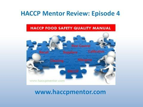 Episode 4: How do you organise your HACCP Food Safety Manual?