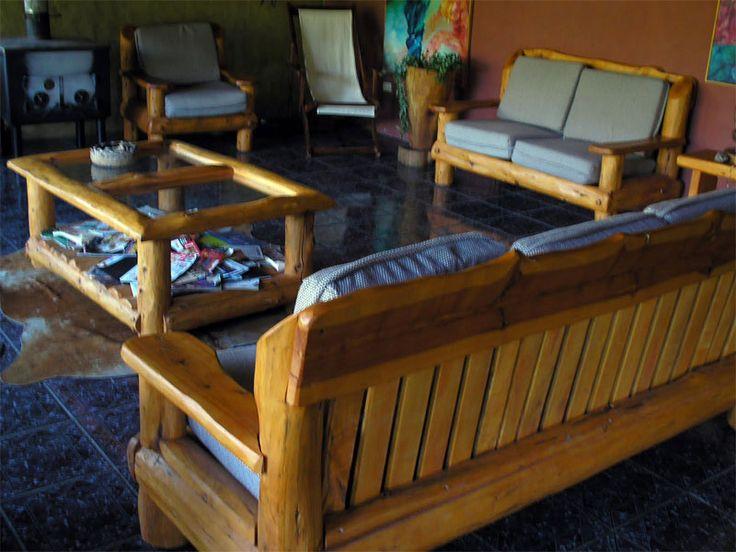 17 mejores ideas sobre sillones rusticos en pinterest for Bancos de jardin rusticos