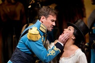 """Love Potion Opens Season At the Met  By ANTHONY TOMMASINI  The Metropolitan Opera season opened with a psychologically charged new production of Donizetti's enduring comedy """"L'Elisir d'Amore,"""" starring Anna Netrebko."""
