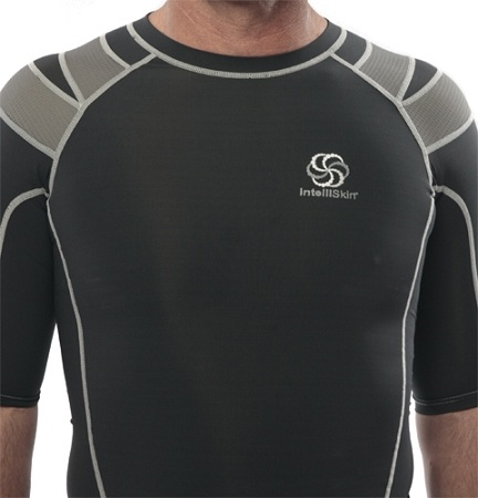 IntelliSkin products have been scientifically proven to improve posture and alignment, by simply being worn. IntelliSkin's unique, patent pending PostureCue™ technology takes advantage of the way that the thousands of our nerve endings in our skin respond to the outside world to create an instant and predictable neuromuscular response. Expect more from what you wear.