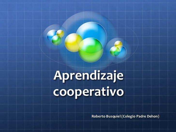 Aprendizaje cooperativo en el aula de primaria.